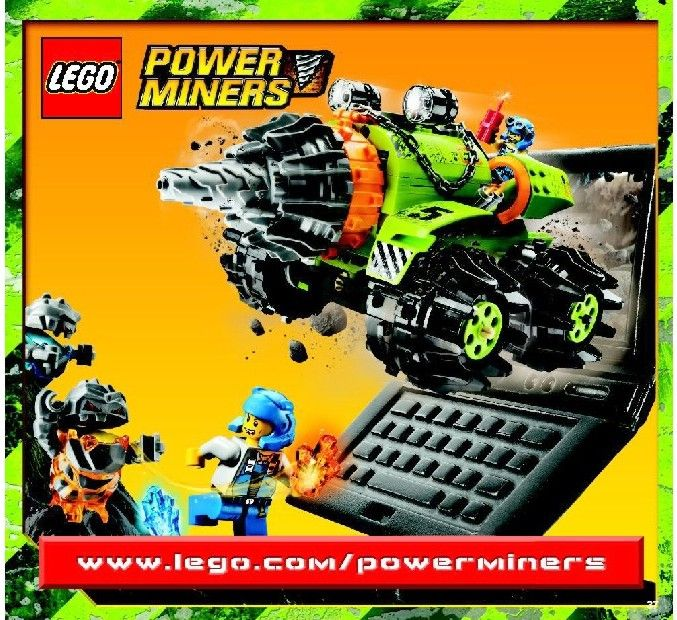 Power Miners - Claw Digger  [Lego 8959]