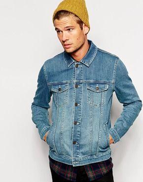 Enlarge ASOS Denim Jacket In Skinny Fit