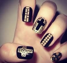 The 25 best cross nail designs ideas on pinterest diy nails image result for fancy nail designs prinsesfo Images