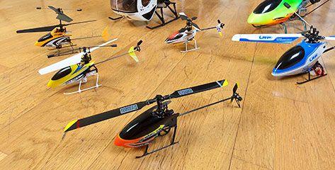 Elegir tu Helicóptero – Aprendiendo a pilotar en casa
