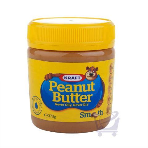 Smooth Peanut Butter – Kraft - 375g | Shop Australia