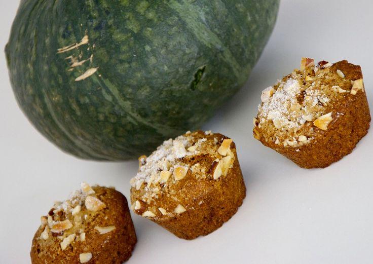 Muffin di zucca e noci