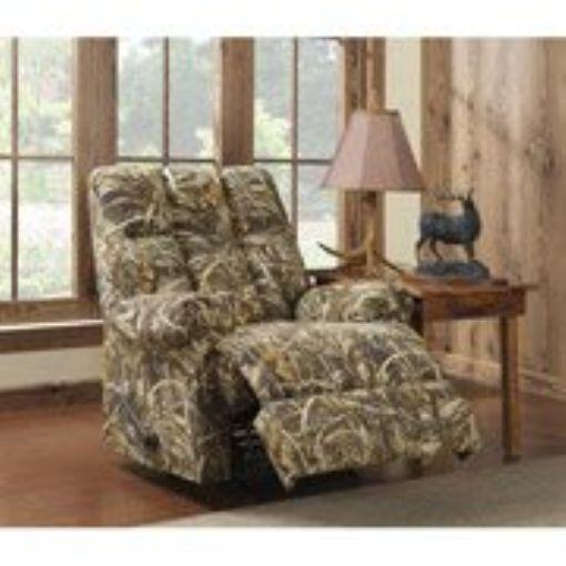 Camouflage Sofa Boy Outdoorsman High Roller Rocker Lazy Recliner Chair #Dorel