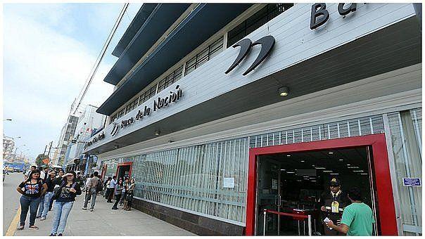 Banco de la Nación amplía horario de atención a nivel nacional