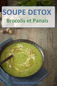 -SOUPE DETOX- Cette recette de soupe aux brocolis est panais est parfaite pour rebooster ta perte de poids ou faire une journée DETOX !