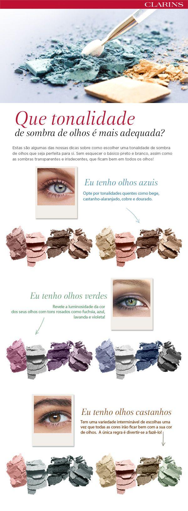 OLHOS: que tonalidade de sombra de olhos é a mais adequada?