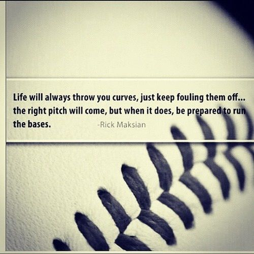 Baseball Life Quote For Party LifeQuotes Pinterest Baseball Fascinating Baseball Life Quotes