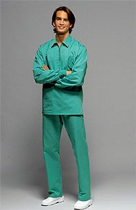 Ds+ Medical Fashion, man's wear for operators of health and care model Power