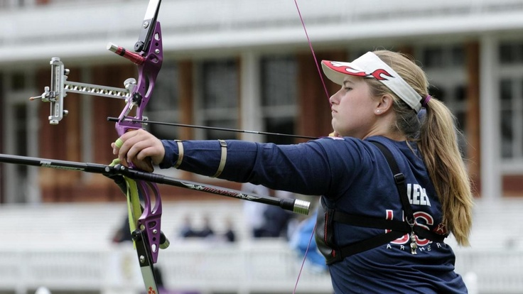 Young Olympic archer proves father knows best  Miranda Leek