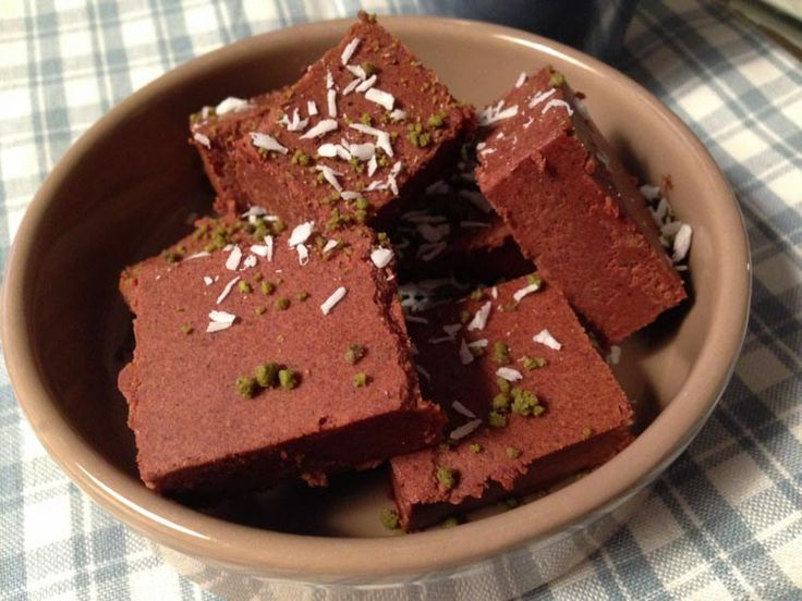 Chocolade fudge   paleo