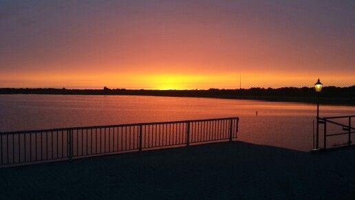 Zonsondergang bij Marina Schiermonnikoog #waddenzee