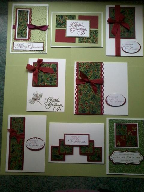 One Sheet Wonder | Christmas cards