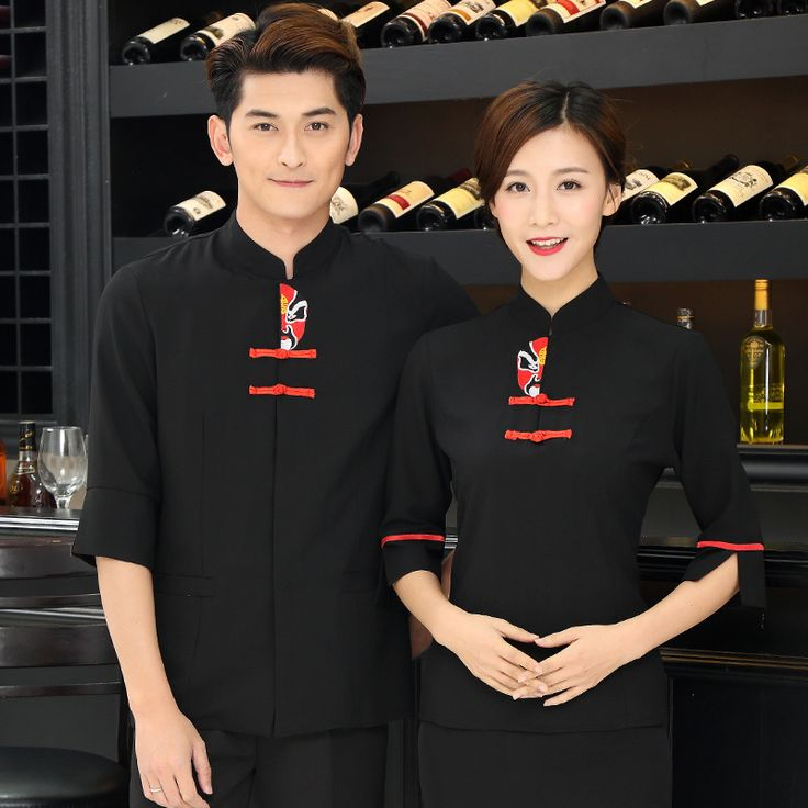 >> Click to Buy << Hotel Uniform Summer Female Chinese Restaurant Restaurant Waiter Hot Pot Shop Hall Farmhouse Seven Points In The New Sleeve J222 #Affiliate