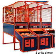 3 units Super Shot basketball games are available for rent