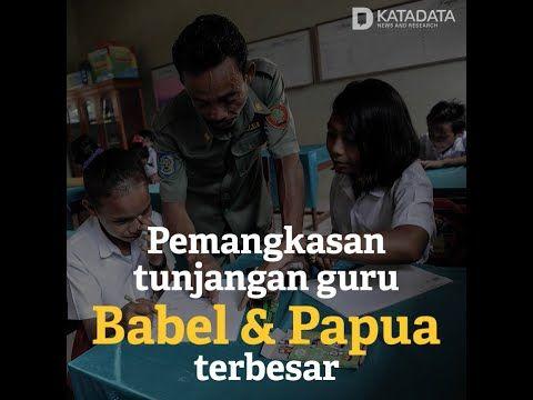Pemangkasan Tunjangan Guru di Bangka Belitung & Papua Terbesar