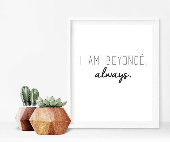 Hey, I found this really awesome Etsy listing at https://www.etsy.com/listing/480587619/the-office-michael-scott-beyonce-quote