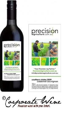 Custom Designed  Labels were added by Corporate Wine to their Budget Range  Southern States 2012 Cabernet Sauvignon, and  a unique product  was created.