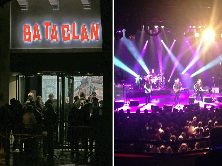 The Bataclan Theatre -- Sting Reopens Music Hall ... First Concert Since Paris Attacks (PHOTO GALLERY)