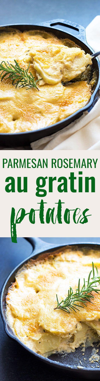 parmesan rosemary au gratin potatoes potatoes theblondcook delish ...