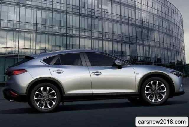 Mazda CX-4 2018-2019 – a new crossover coupe