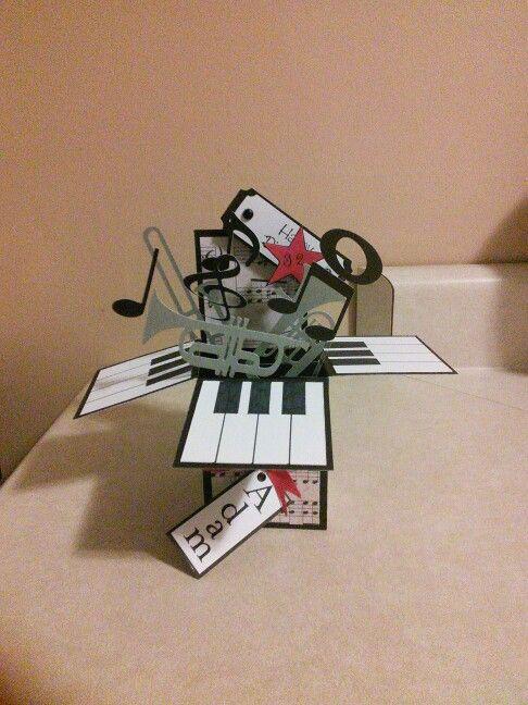 Card in a box musical theme