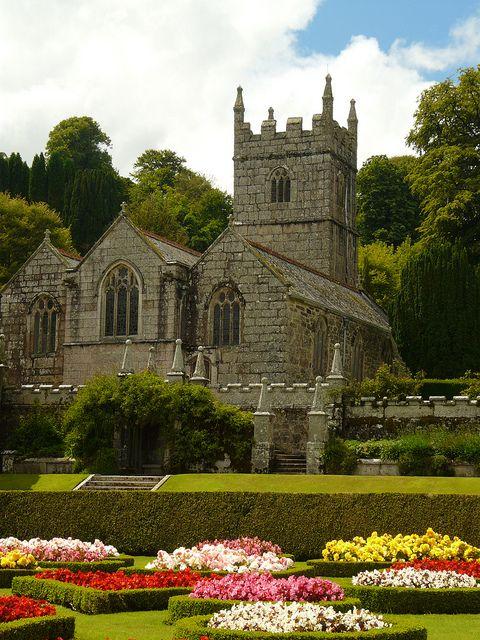 Lanhydrock Church, Cornwall, England is a civil parish of Lanhydrock House