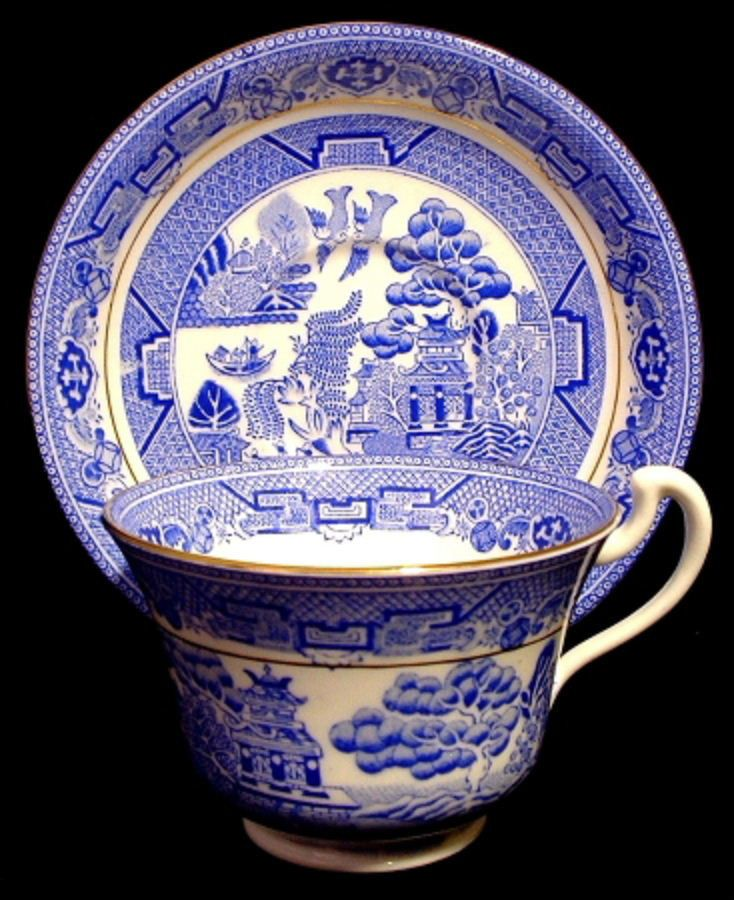 191 Best Blue Willow Images On Pinterest White Dishes