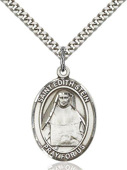 "St. Edith Stein Sterling Silver 1"""