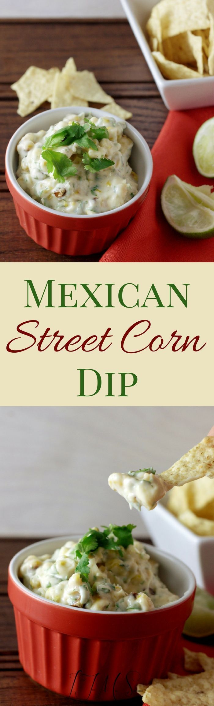 This Mexican Street Corn Dip is perfect for your Cinco de Mayo celebrations this year!