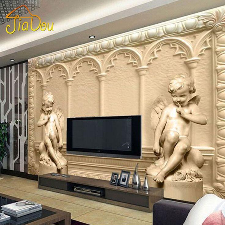 $10.00 (Buy here: https://alitems.com/g/1e8d114494ebda23ff8b16525dc3e8/?i=5&ulp=https%3A%2F%2Fwww.aliexpress.com%2Fitem%2FCustom-3D-Mural-Wallpaper-European-Style-3D-Stereoscopic-Angel-Living-Room-TV-Sofa-Backdrop-Bedroom-3D%2F32570889884.html ) Custom 3D Mural Wallpaper European Style 3D Stereoscopic Angel Living Room TV Sofa Backdrop Bedroom 3D Photo Wallpaper Roll for just $10.00