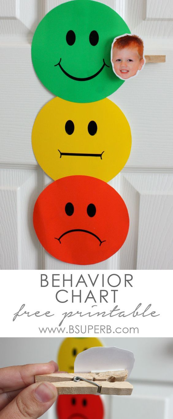 Toddler Behavior Chart with Free Printable and Instructions