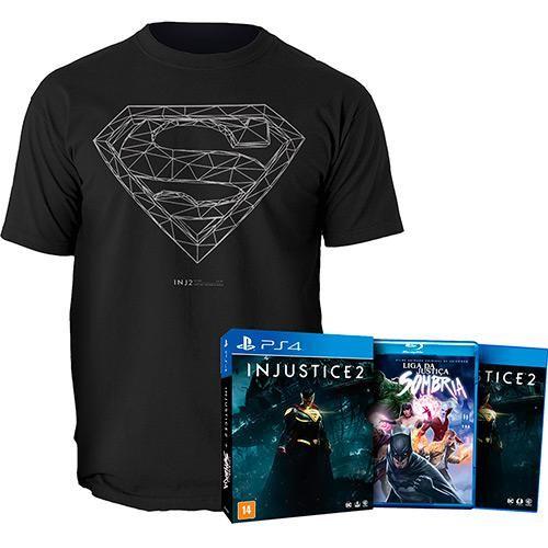 Game: Injustice 2 + Camiseta - PS4 - Americanas.com