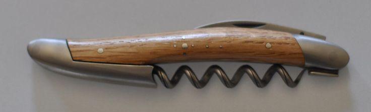Forge De Laguiole Corkscrew Oak Wood Handle. by OnTargetJewelry on Etsy