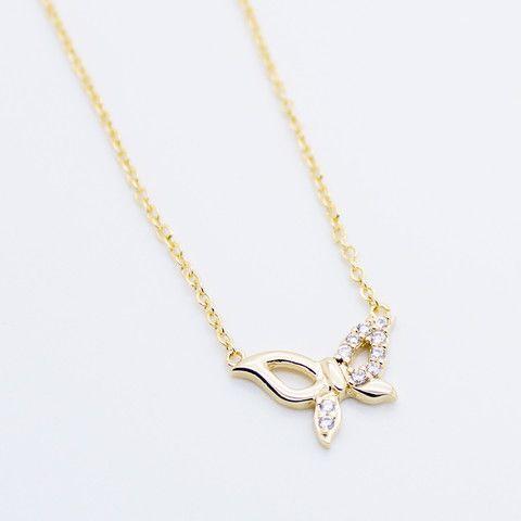Butterfly necklace SILVER – Imsmistyle.