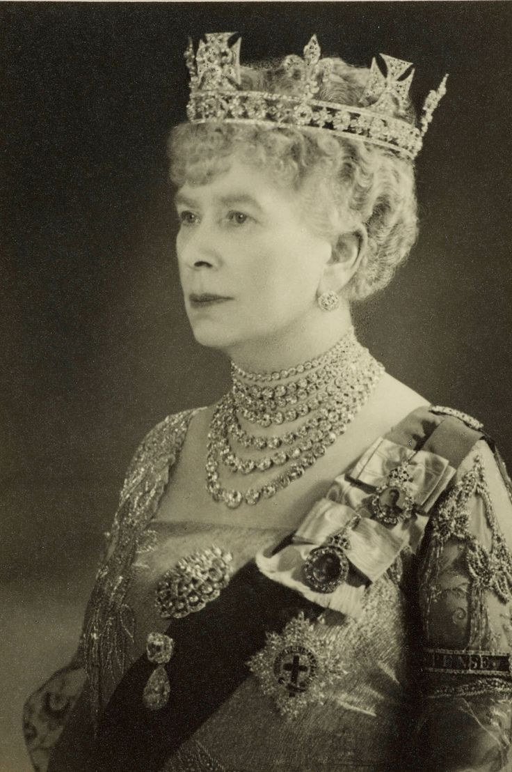 Princess Mary Of Teck Queen Consort To George V Of The U
