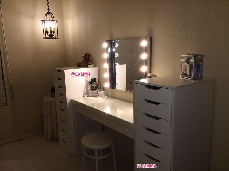 ikea malm dressing table 149 2 - Makeup Eitelkeit Beleuchtung Ikea