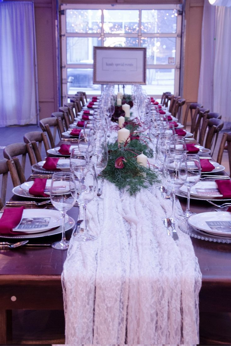 Farm tables add rustic elegance and warmth to your event, whether a wedding or an intimate family gathering
