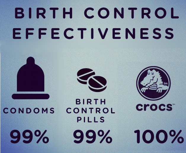 I kicked a guy out of my apartment for wearing crocs once. We coulda been something.