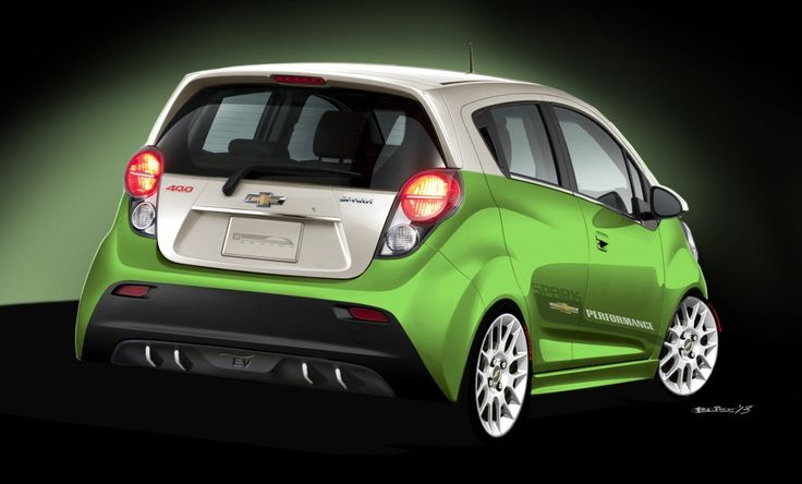 2014 Chevrolet Spark EV –  high tech electric city car priced