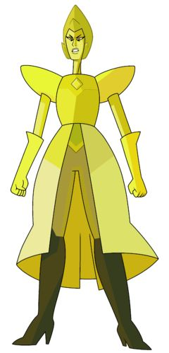 """Yellow Diamond Characteristics Traits Professional Status Media """"Yellow Diamond"""" is a Homeworld Gem and a member of the Great Diamond Authority that rules over the Gem race. She was first shown in the extended theme song and made her debut appearance in """"Message Received""""."""