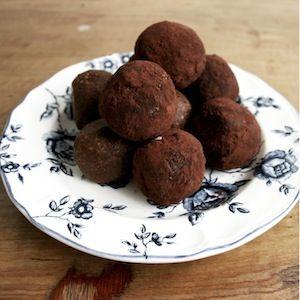 Choc Berry Balls Recipe