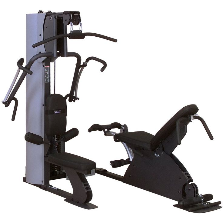 Body Solid G8I Iso Flex Home Gym. Iso-Flex home gym with set of 3D independent motion arms for total muscle development. Motion arms work both the primary (targeted) muscles and secondary (stabilizer) muscles. Swiveling dual pulley lat station; leg developer station with SmoothGlide bearing system. 210-pound weight stack for added resistance; DuraFirm back pad with lumbar support. Includes Total Body Workout DVD; measures 73 x 83.5 x 85 inches (W x H x D); lifetime warranty.
