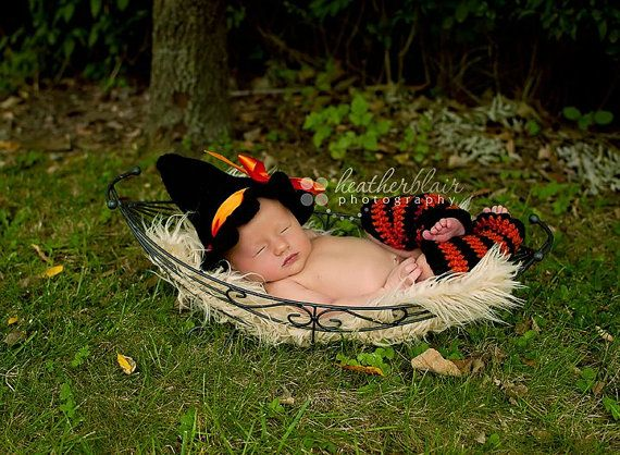 But as a mini witches hat  Halloween Orange and Black Leg Warmers  by BriarRoseCraftyThing, $20.00
