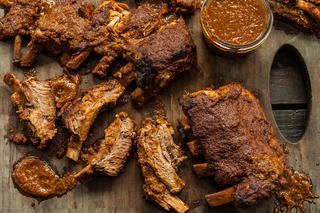 Slow Cooker Bourbon Ribs Recipe