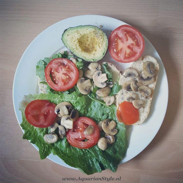 Deze lunch laat je wens uitkomen #voeding #vegan