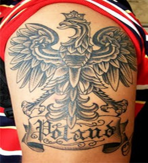 Polish Tattoo Ideas: 13 Best Images About Polish Eagle Tattoos On Pinterest