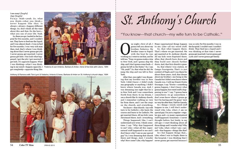 We get married at St. Anthony church. All my kids were Baptized there.