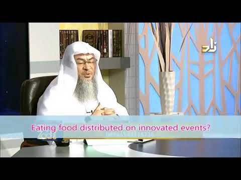 Eating food of innovated festivals like Mawlid, Muharram, Khatam etc - Sheikh Assim Al Hakeem - YouTube