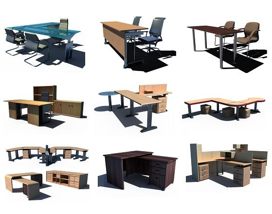 7 best 3ds max model collections images on pinterest 3ds for Office design 3d max