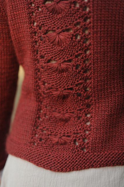 Knitting Pattern: Crestview cardigan